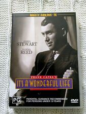 IT'S A WONDERFUL LIFE –  JAMES STEWART- DVD, REGION-ALL, LIKE NEW, FREE POSTAGE