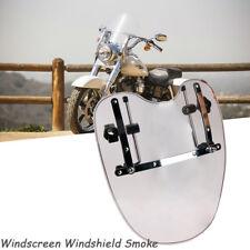 Windscreen Windshield Smoke For Kawasaki VN Vulcan 750 800 900 1500 2000 Classic