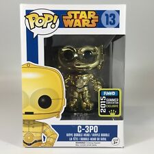 C-3PO (Chrome) 2015 SDCC Summer Convention Exclusive Star Wars Funko Pop New