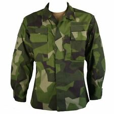 Genuine Issue Swedish M90 Camo Shirt Medium-Regular 41R