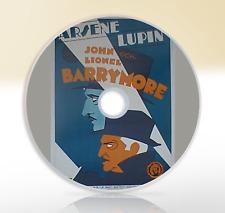 Arsene Lupin (1932) DVD Classic Crime Drama Movie / Film John Lionel Barrymore