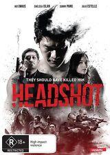 Headshot (DVD, 2017) (Region 4) Aussie Release