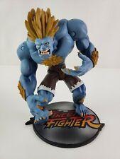"Street Fighter 8"" BLANKA Blue Player 2 Capcom 1999 - RESAURUS - USED"