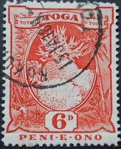 Tonga 1897 Six Pence SG 47 used