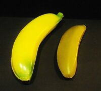 Vintage 2 Carnaval water banana made of plastic - made in PORTUGAL 1970's
