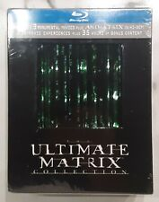 Brand New Sealed The Ultimate Matrix Collection Blu-Ray Discs Keanu Reeves