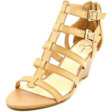 Zapatos de tacón de mujer plataformas Jessica color principal crema