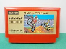 NES -- EXCITE BIKE -- popular bike racing. Famicom. Japan Game. 10157