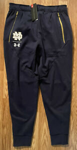 Notre Dame Football Team Issued Under Armour Pants Size New Tags 2XL