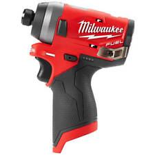 Milwaukee 2553-20 M12 FUEL Brushless 1/4 Hex Cordless Impact Driver GEN II Short