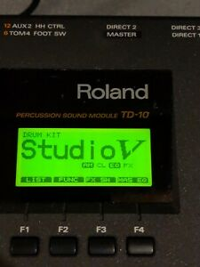Roland Td-10 Percussion Drum Module w/ extras!! Free shipping!! Clean!!!
