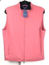 Peter Millar Vest Golf Crown Crafted Stealth Hybrid Cred Pink M $245 MSRP