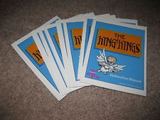The King of Kings Wisdom Tree NES Manual ONLY - New - Wholesale Lot Of 10