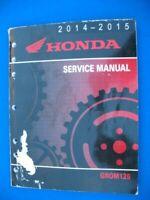 Honda 2014 2015 GROM 125 Factory Service Repair Manual  P871