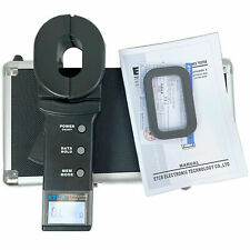 Clamp Earth Resistance Detector Tester Ground Resistance Measurement 0.01Ω-200Ω