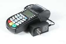 Hypercom Optimum T4220 Credit Card Processing Terminal Machine with Adapter