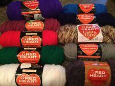 Red Heart Yarn ~ Classic  Super Saver  Symphony  &