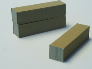 1 each Standard shipping Container Z-scale from Freudenreich FR, early edition,