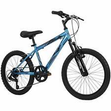 Huffy Kids Hardtail Mountain Bike for Boys, Stone Mountain 20 inch 6-Speed, Meta