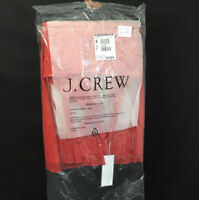 New Jcrew Chiffon Beautiful Red Halter Top Dress Knee Length Sz 4