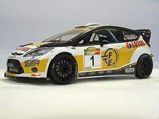1:18 scale ROBERT KUBICA RALLY CASENTINO 2014 code3 model FORD FIESTA WRC