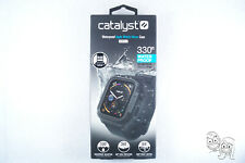 Catalyst - Protective Waterproof Case for Apple Watch 5 4 (44mm) - Stealth Black