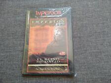DVD IMPERIOS - EL REINO DE DAVID - LA SAGA DE LOS ISRAELITAS - SEALED - NEW
