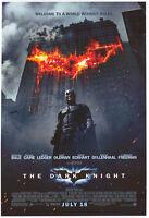 Batman The Dark Knight Bldg Double Sided Orig Movie Poster 27x40