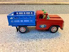 RARE Ford Pickup Truck  Tin Toy Car Japanese Tin  Friction 1956 Litho Bulldog