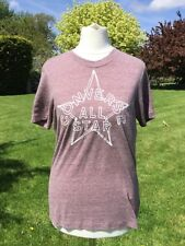 Converse All Stars Pink Marl T Shirt Size XS New with Tags
