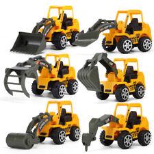 6PCS Niños Mini Creativo Construcción Camión Modelo Coche Juguete Excavadora De