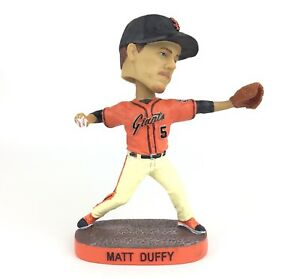 San Francisco Giants 5 Matt Duffy Stretch Drive Bobblehead Wobble Head Doll