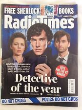 RADIO TIMES MAG 11-17 Jan 2014 DETECTIVE OF THE YEAR. RT AWARDS VOTE CUMBERPATCH