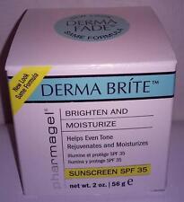 Pharmagel Derma Fade Brite Lightening & Fading Creme 2 oz  For AGE /BROWN SPOTS