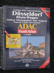 Book ADAC Stadt Atlas Düsseldorf Rhein-Wupper 5. Auflage