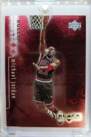 Rare: 1999 99 Black Diamond Double Diamond RED Michael Jordan #12, #'d /3000