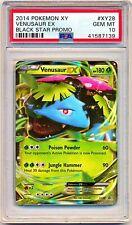 2016 Pokemon XY Black Star Promo Venusaur EX #XY28 PSA 10 - POP 23 - QTY AVAIL