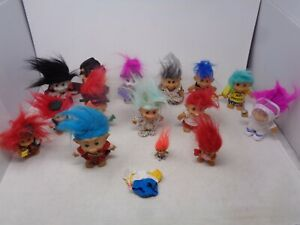 Vintage Lot of Russ Troll Dolls - Holiday & More!