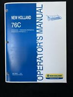 New Holland 76c Grain Head Operator's Manual *988