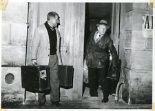 BOURVIL JEAN GABIN LA TRAVERSEE DE PARIS  1956 VINTAGE PHOTO ORIGINAL #2