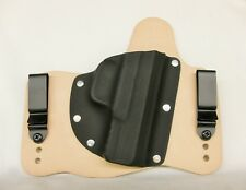 FoxX Leather & Kydex IWB Hybrid Holster Ruger Security 9 Natural Right Tuckable