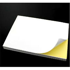 10 A4 Self Adhesive Glossy Paper Label Sticker Fit for Laser and Inkjet Printers