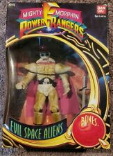 "VINTAGE 1993 BANDAI MIGHTY MORPHIN POWER RANGERS BONES 12"" FIGURE MISB"