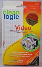 NEW Clean Logic HyperBrush Video Tape VCR VHS Head Drum Cleaner Reusable