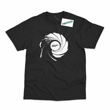 007 Barrel Inspired by James Bond Printed T-Shirt