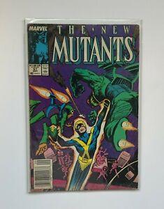 The New Mutants #67 (Marvel, 1988) Magneto Magik