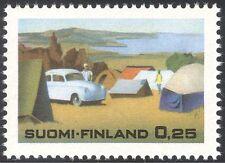 Finland 1968 Tourism/Camping/Cars/Motors/Motoring/Leisure/Transport 1v (n23873)