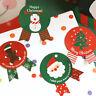 24Pcs Snowman Tree Christmas Sealing Sticker Gift Box Card Envelope Decoration
