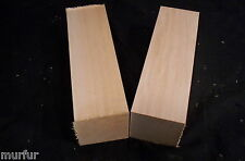 2 Pc Northern Wisconsin Grown Basswood Carving Lumber 2 x 2 x 8 Inch