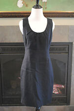 NWT J Crew Allura Shift Dress in Superfine Cotton Navy Sz 12 Large L $158 34304